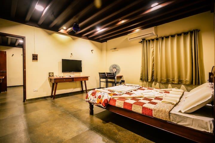 Luxury stay in a rustic Maharashtrian resort