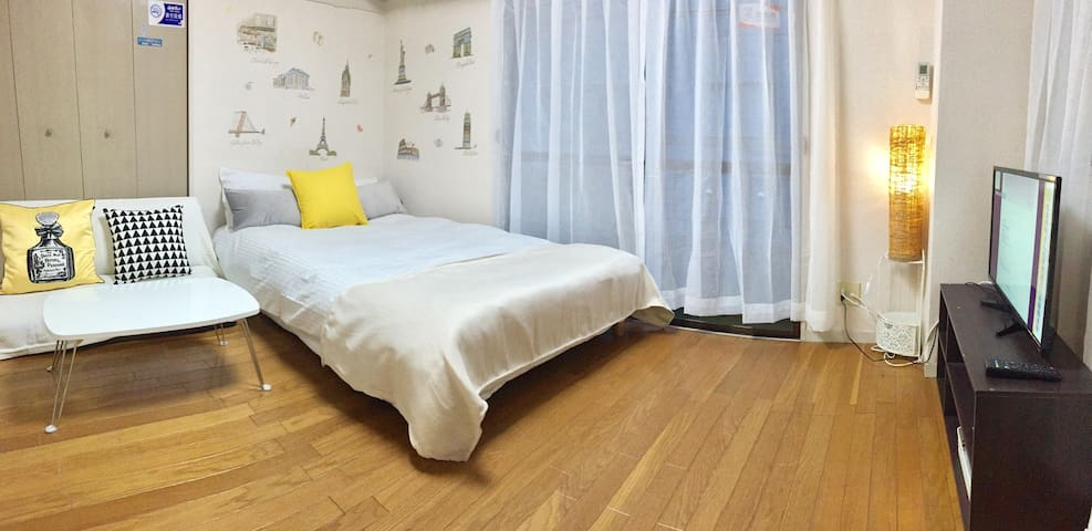 8min to JR UENO sta, staADSL WIFI - Taitō-ku - Appartement