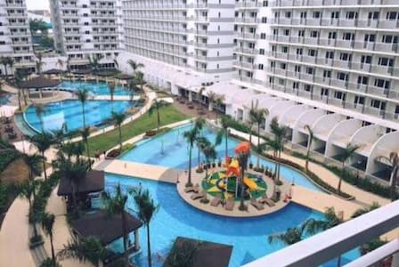 Cozy 1-bedroom with a view @SM MoA - 帕赛(Pasay) - 公寓