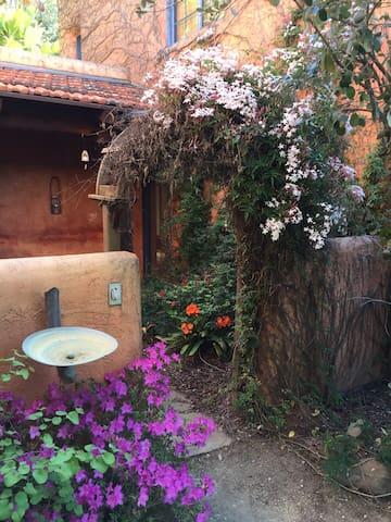 Private Entrance into the Casita