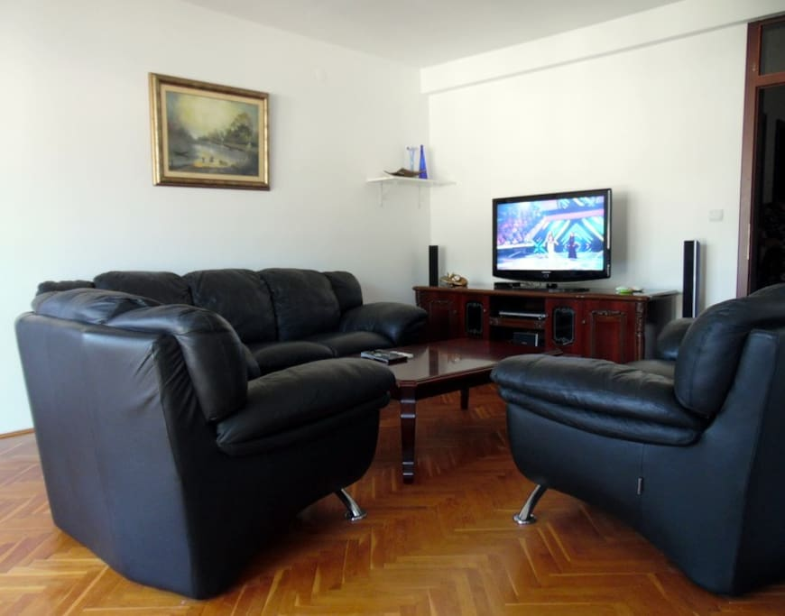 Living room with terrasa