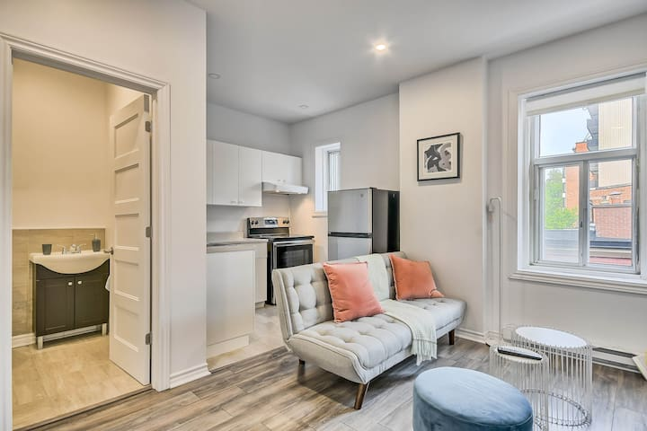 Bright condo in the center of DT MTL