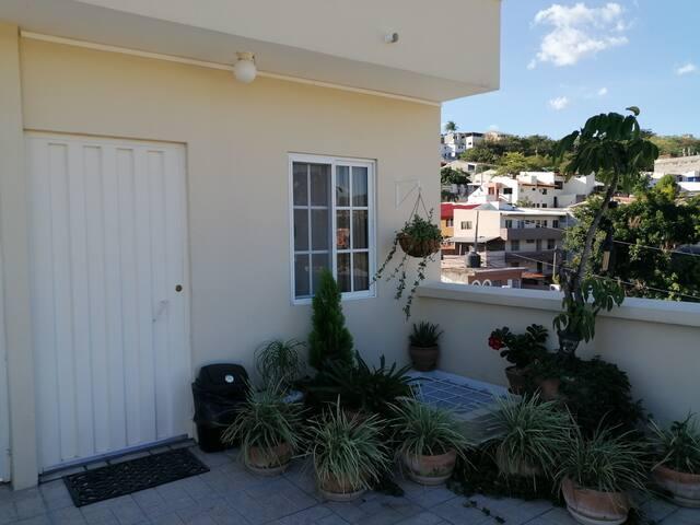 Hab Priv terraza de Apartamentos Villas Coloniales