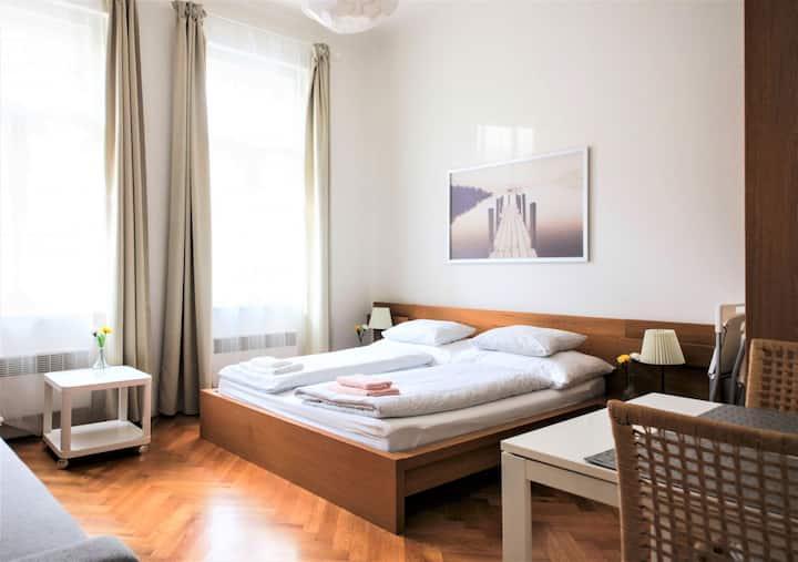 Comfortable 1-Bedroom Apartment, Prague 6, Subway