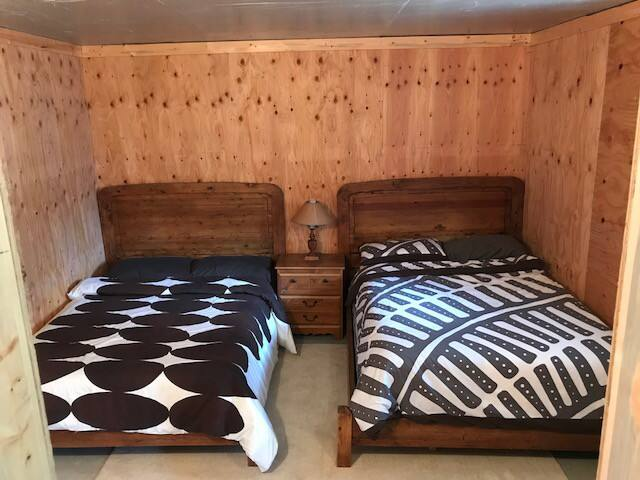 3rd bedroom, two double beds