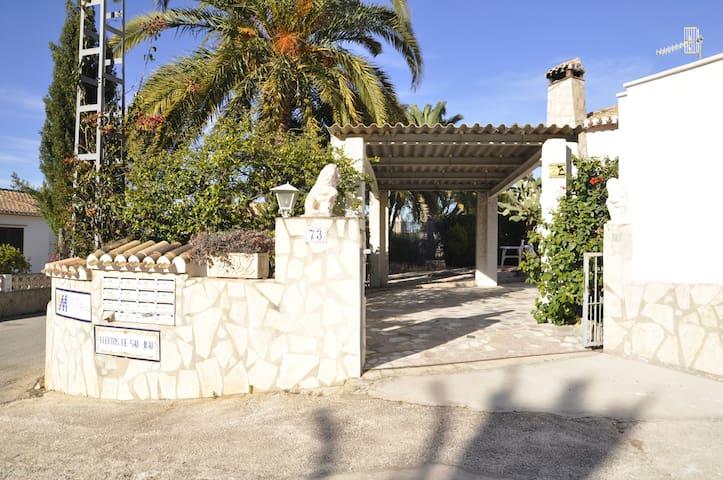 HUERTOS DE SAN JUAN-Villa independiente 2 dormitorios, 6 PAX
