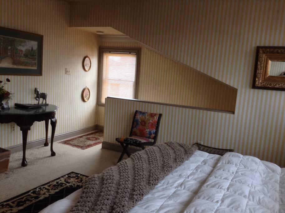 Attic Room 2 Level Private Suite