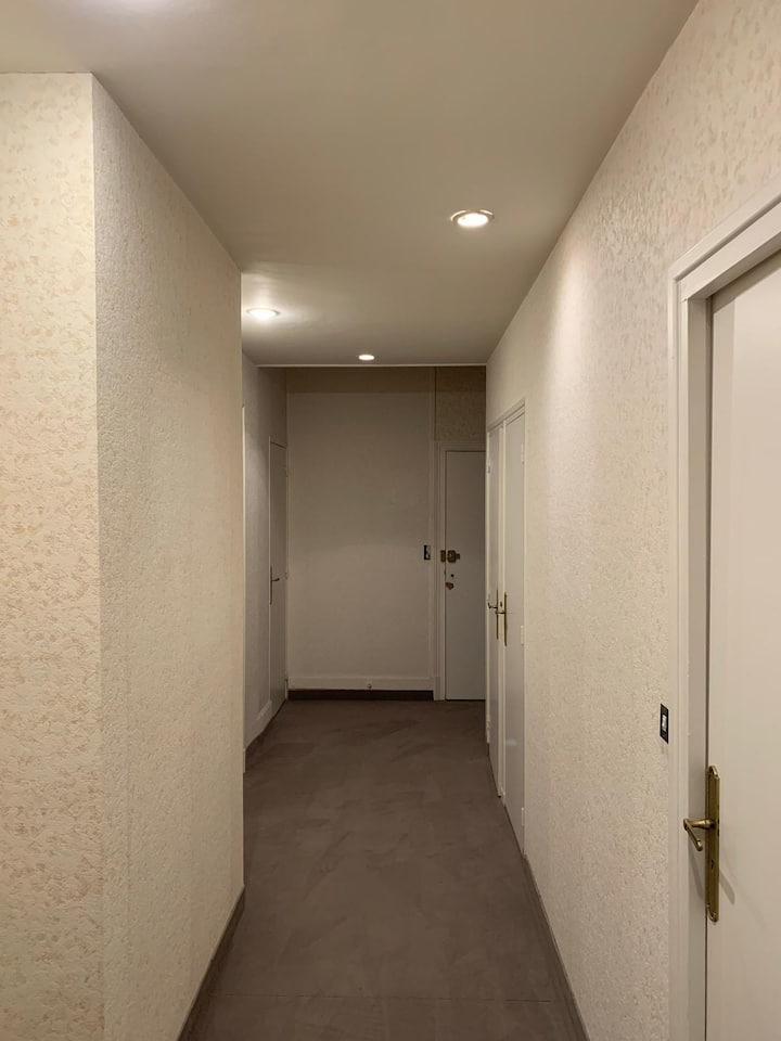 L'ÉMERAUDE4(proche gare appartement spacieux 80m2)