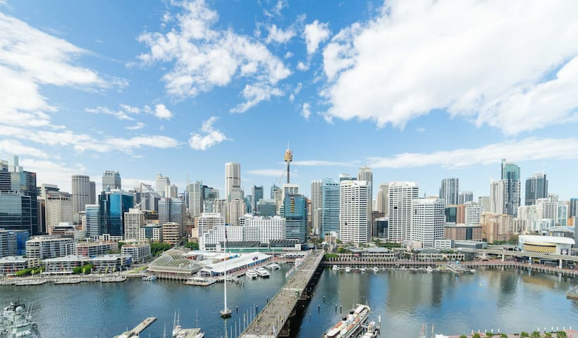 Beautiful One Darling Harbour Apt Apartments For Rent In Sydney New South Wales Australia