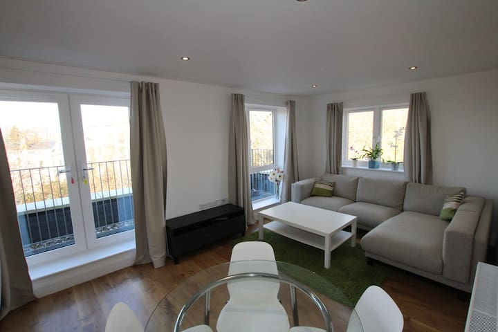 City Centre Penthouse Apartment - Nottingham - Daire
