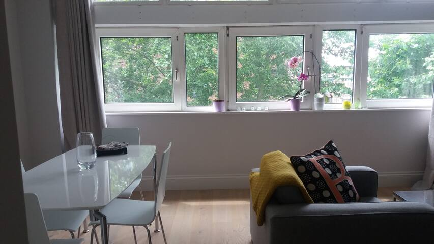 Double bedroom in a brand new flat in Putney
