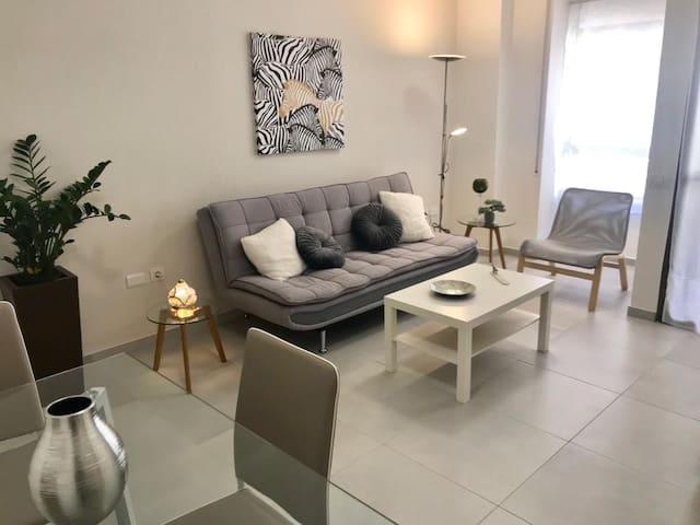 Elegante apartamento en el centro de Santa Cruz