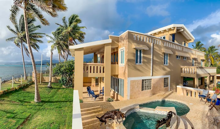 Luxury Ocean Front Villa with Panoramic Views
