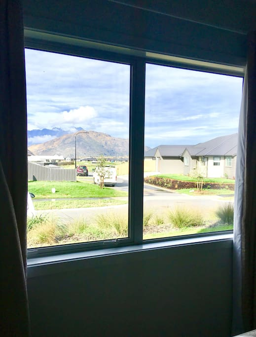 View from your bedroom, mountain surrounds