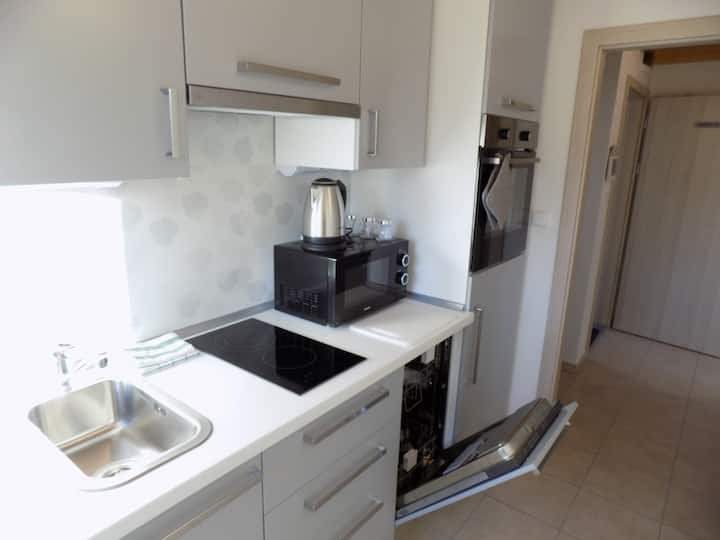 Duplex apartment for 8 people in the city center