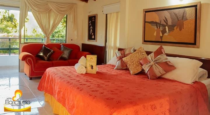HOTEL MONCHUELO habitacion suite