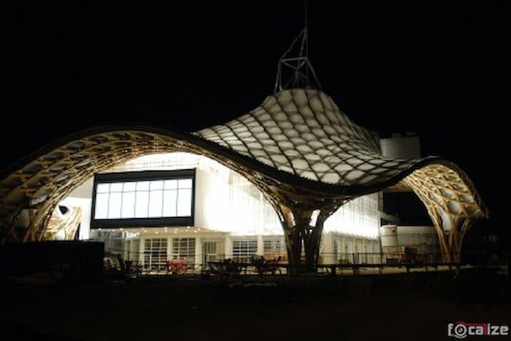 centre Pompidou de nuit... à deux pas de chez moi...