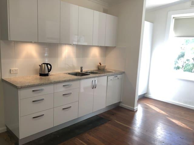 Sparkling modern kitchen