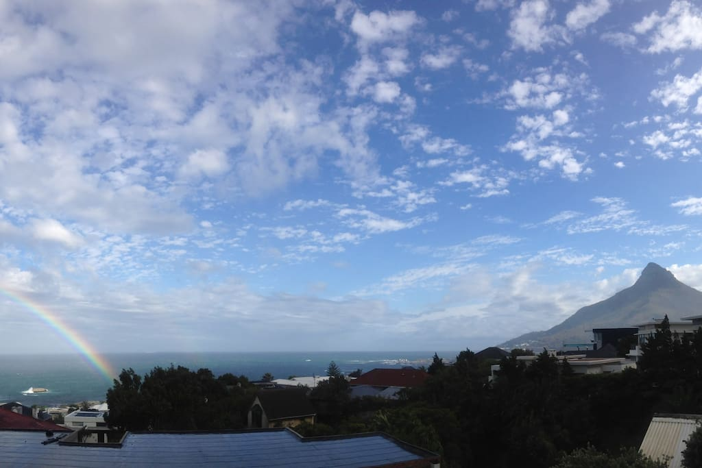 View from balcony! Bliss!