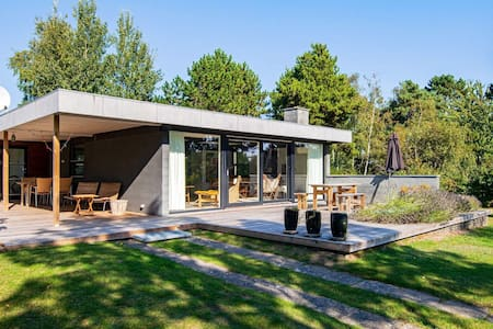 Modern Holiday Home in Ebeltoft with Roofed Terrace