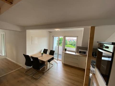 Monteur- Wohnung mit Balkon im Zentrum von Lathen