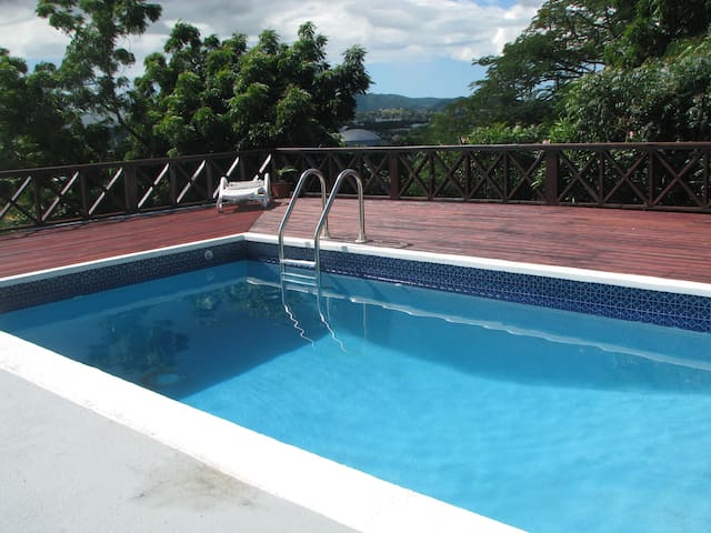 Luscious Private Villa with Pool (FREE RENTAL CAR)