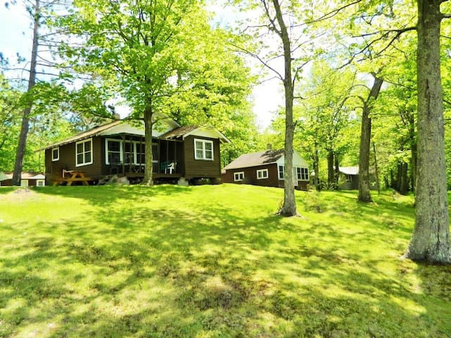 #5 Charming Cabin Pokegama Lake, Woodland Resort