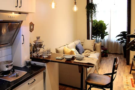 Vintage style apartment in the downtown of Harbin