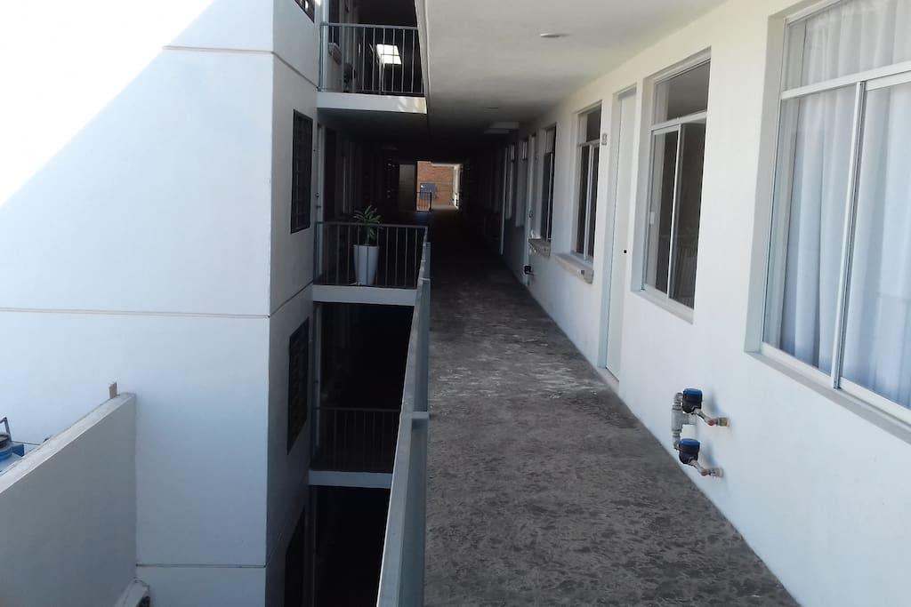 Condominio pasillos