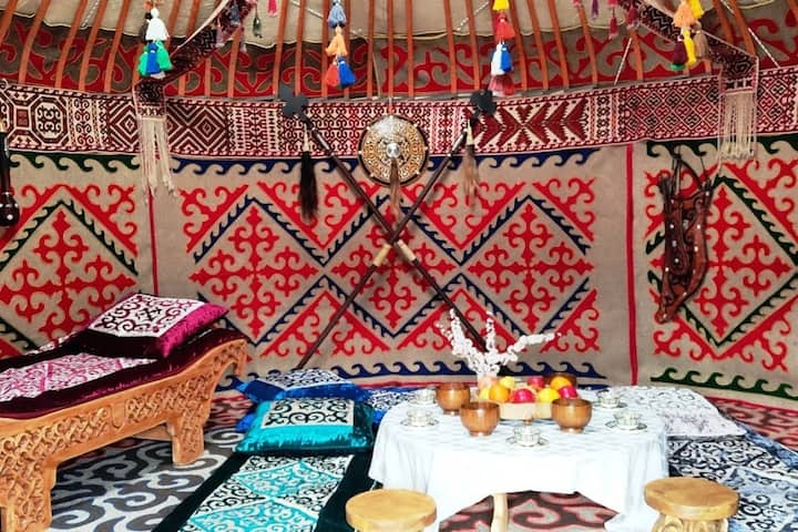 Yurt in Almaty (including 3 days of tours)