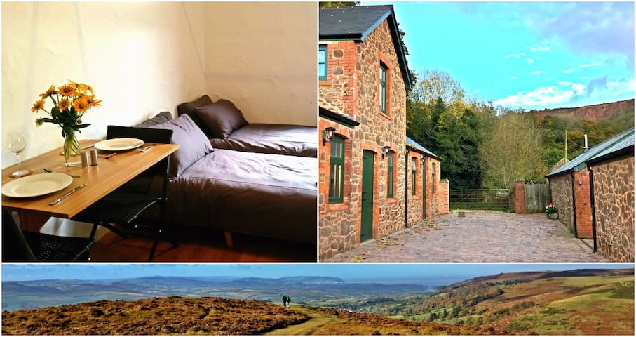 Grooms Studio: perfect hideaway on the Quantocks - Triscombe - Daire