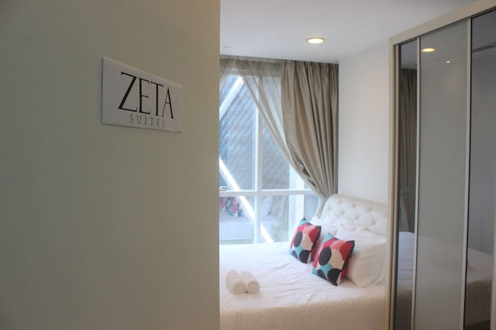 Zeta Suites @Binjai KLCC with Astro HD TV