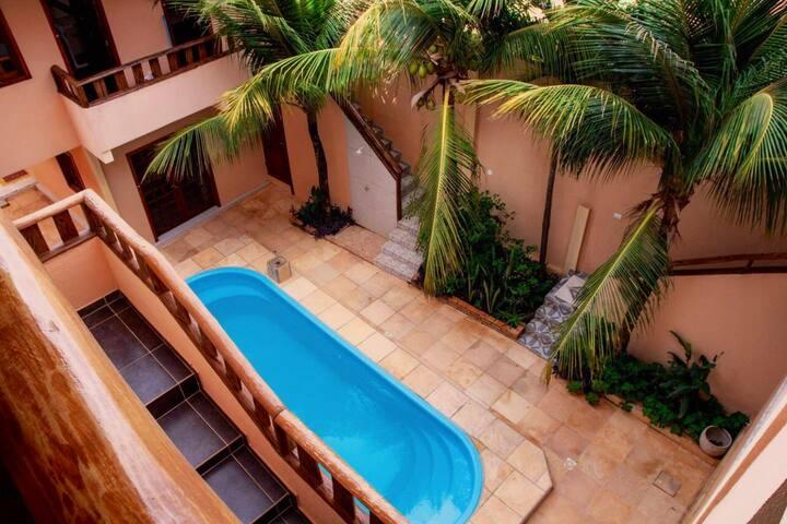 Hotel Alta Vista está localizado em Canoa Quebrada