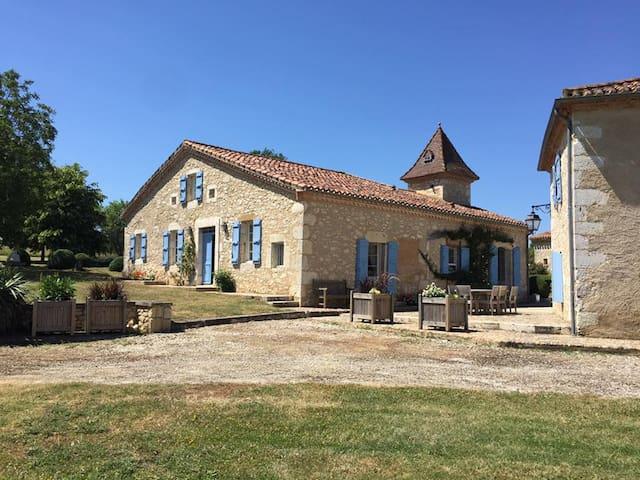 Hount Dessus - Larroque-Saint-Sernin - บ้าน