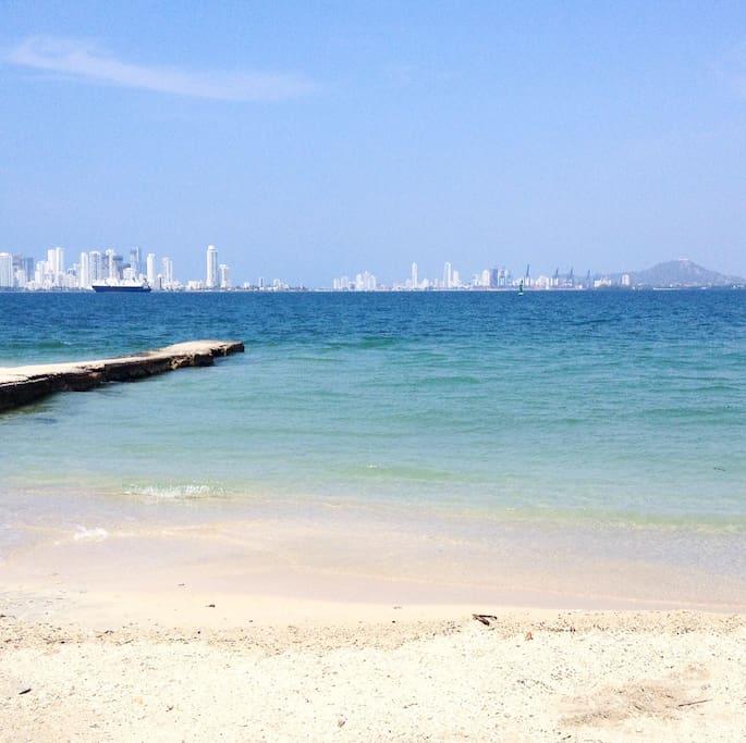 Bonito día en la Playa.