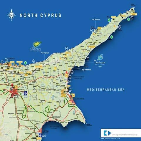 Студия в лучшем комплексе на Кипре! - Фамагуста - Leilighet
