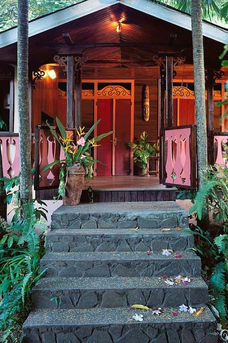 Banyan House entrance