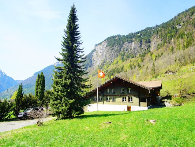 Grindelwald Chalet Tannegg part ground floor