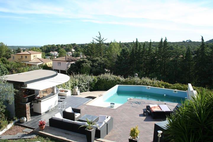 Location maison à Saint Gely du Fesc,proche de Mtp - Saint-Gély-du-Fesc - Huis