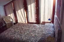 The Upstairs Apartment bedroom
