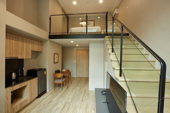 Blossom Loft 3#Close BTS S5,Free Pool/Gym/Wifi