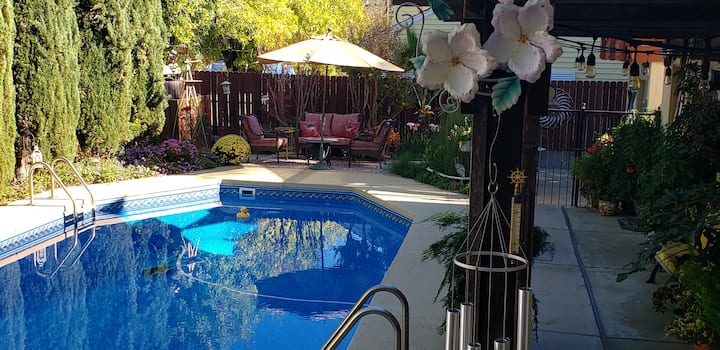 Redding Studio With Pool Close To Downtown