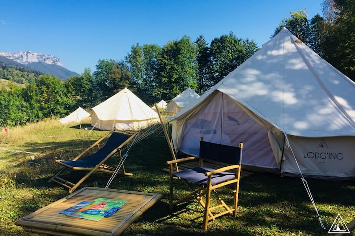 LIVE A GLAMPING EXPERIENCE DURING THE COUPE ICARE