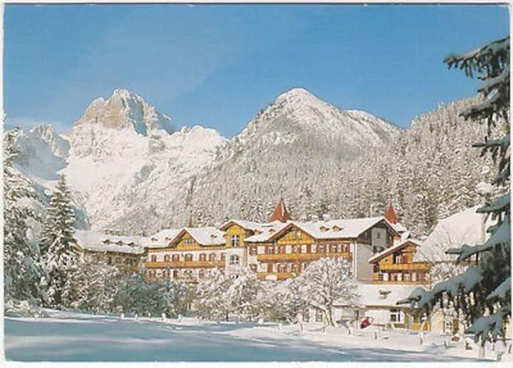 Settimane bianche vicino Cortina