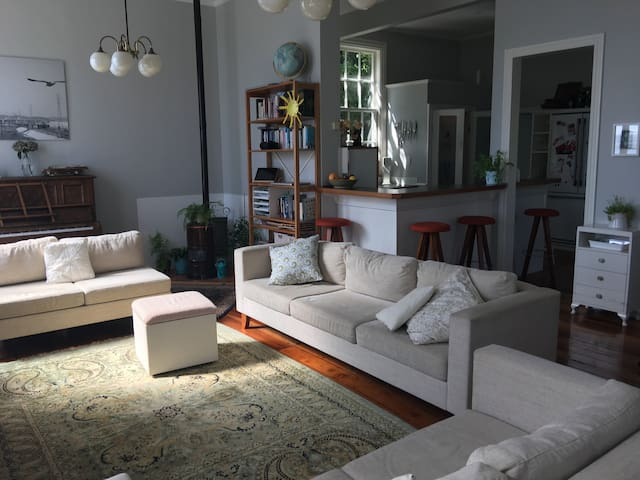 City sanctuary in Aro Valley with views
