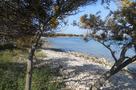 Cala Mandriola casa fronte isola Mal di Ventre - Mandriola - Ferienunterkunft