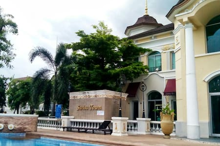 Townhome in a quiet residence area. - Chorakhe Bua, Lat Phrao