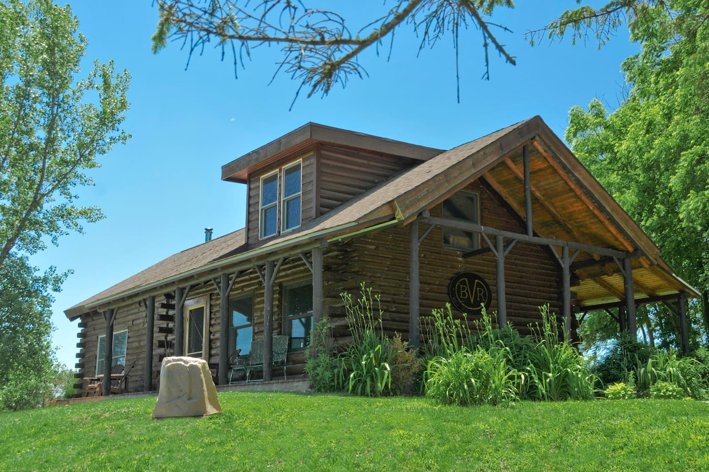 Big Valley Ranch\'s Private Two bedroom Log Cabin - Cabins for Rent ...