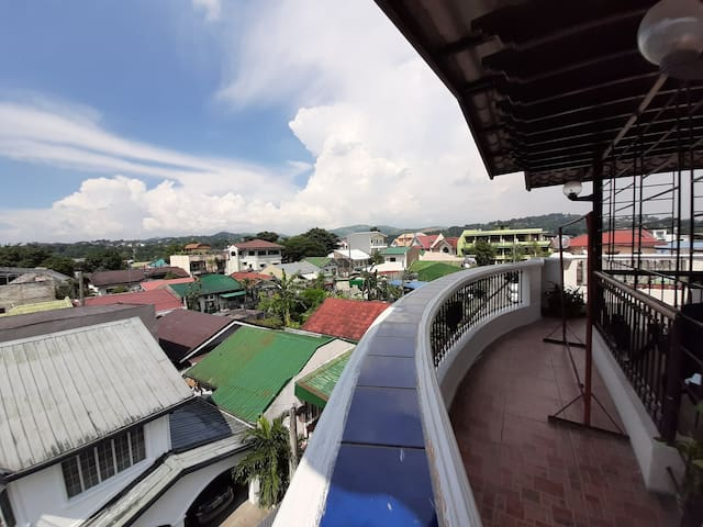 Overlooking Metro Manila