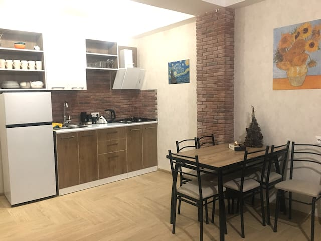 Cozy Apartment • 86 •   Didveli Residence